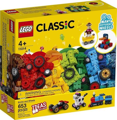 Lego Classic Original Caixa Blocos E Rodas