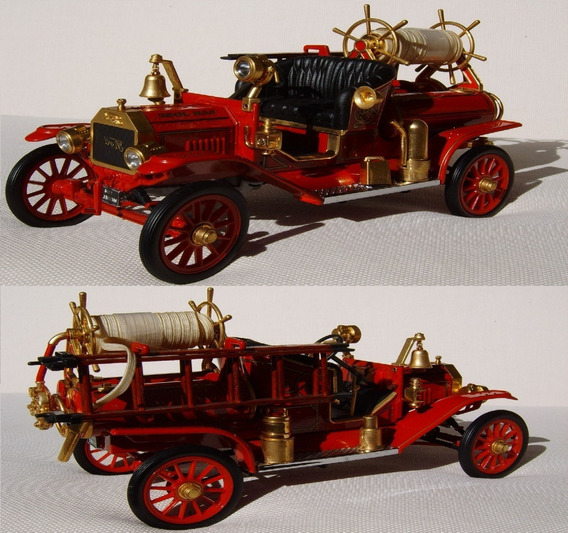 Ford T - Fire Engine - 1914 - Esc. 1/18 (raridade)
