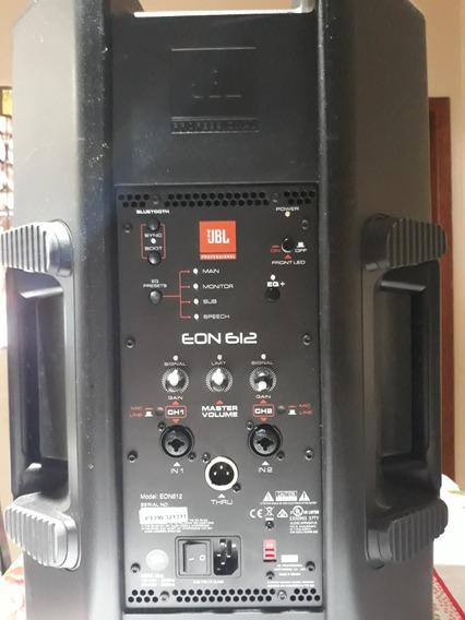 Caixa Amplificada Ativa Jbl Eon-612