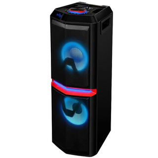 Caja Amplificada Novik Thunder Led 2x10 Bluetooth Usb Mp3