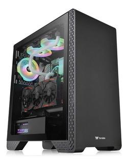Gabinete Gamer Thermaltake S300 Tg Vidrio Templado Atx Gtia