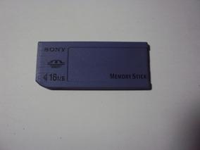 Cartão De Memória Sony Memory Stick 16 Mb - Original