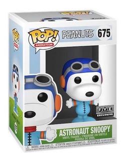 Astronaut Snoopy Peanuts Fye Exclusive Funko Pop