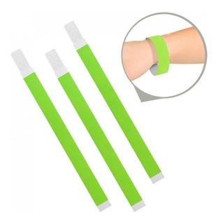 Pulseira Identificação Festa - Verde Fluor 1 Mil Unid