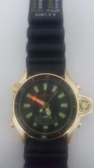 Relógio Atlantis.. Totalmente Funcional. Sem Marcas De Uso.