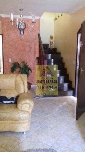 Imagem 1 de 15 de Sobrado Com 3 Dormitórios À Venda, 250 M² Por R$ 680.000,00 - Jardim Santo Elias - São Paulo/sp - So3017