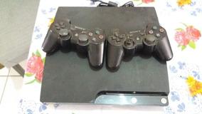 Play Station 3 Slim 160gb + 02 Controles