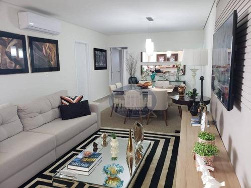 Apartamento No Condomínio Residencial The Garden! - Ap1226