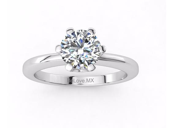 Anillo Compromiso Diamante Certificado Igl Laser .46ct I Si2