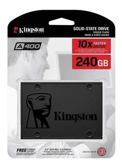 Disco Duro Solido Ssd 240gb Kingston Sata 3