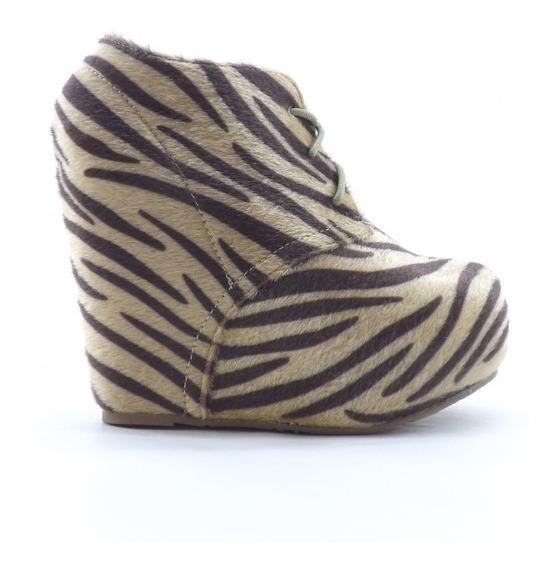 Zapatos Dama Plataforma Escondida Altos Liquidacion Zebby