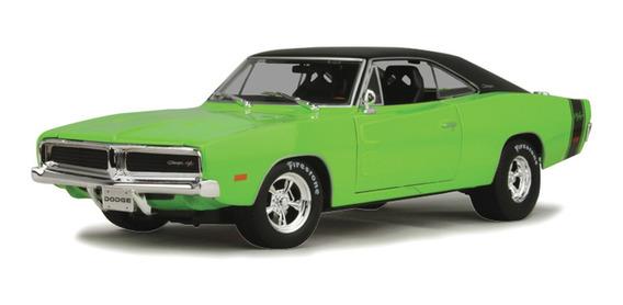 Miniatura Dodge Charger Rt 1969 1/18