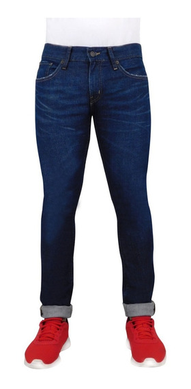 Jeans Breton Para Caballero Corte Entubado. Estilo Bjm018