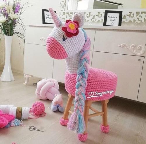Patrones Bancos Amigurumis Crochet X3- +1 Reg. (esp.)