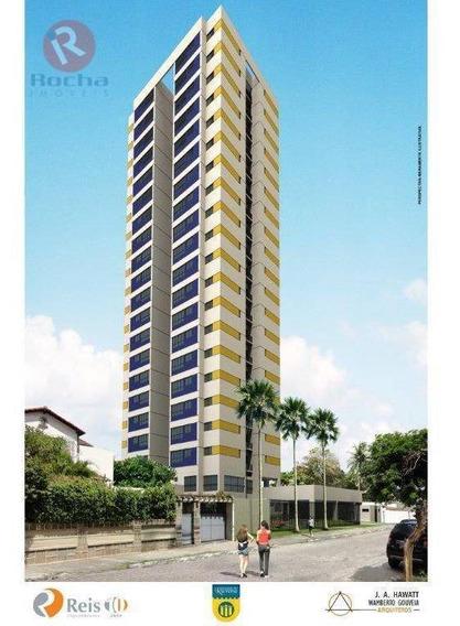 Apartamento Com 2 Dormitórios Para Alugar, 46 M² Por R$ 1.900/mês - Campo Grande - Recife/pe - Ap10000