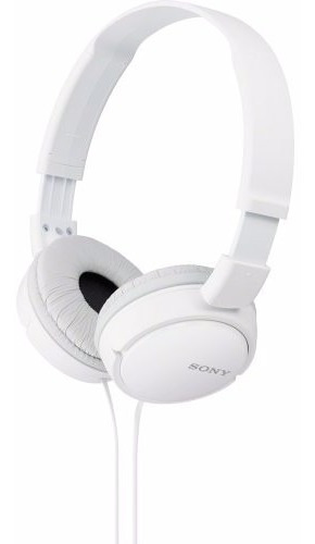 Fone Ouvido Branco Sony Headphone Original Mdr-zx110 Zx110