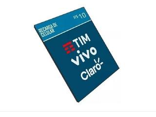 Recarga De Celular Online R$10,00 Todas Operadoras Promoção
