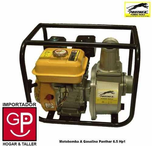 Motobomba A Gasolina Panther 6.5 Hp G P