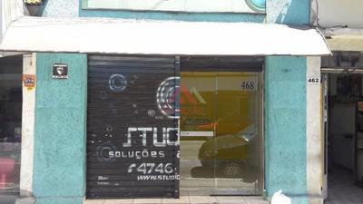 Salão Comercial Para Locação, Centro, Suzano. - Sl0047