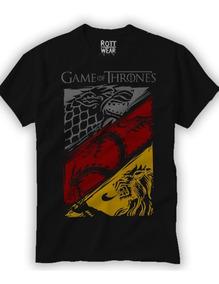 Game Of Thrones Playera Hombre Rott Wear Envío Gratis