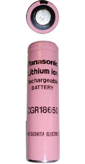 5 Baterias Litio Cgr18650 Recargable Panasonic 2000ma 35-vds
