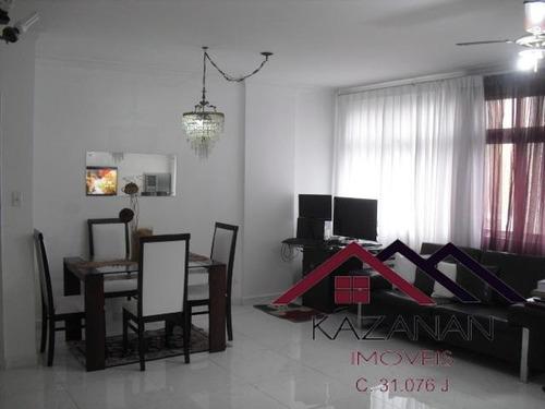 Apartamento 3 Dormitórios - Gonzaga - Santos - 2762
