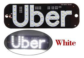 Luminoso Uber Led Uso Interno Várias Cores Com Plugue