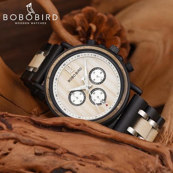 Relógio Bobo Bird S-18 Ivory