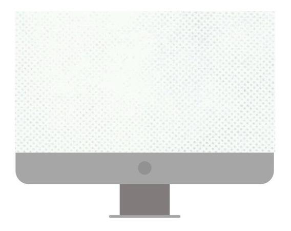 Capa iMac Branco Branca Resistente Protetor 21 Polegadas