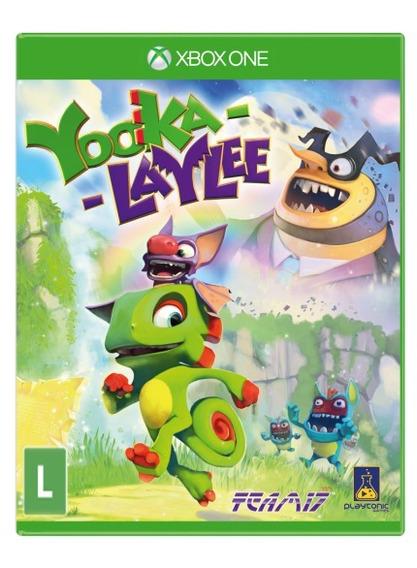 Yooka-laylee (mídia Física) - Xbox One