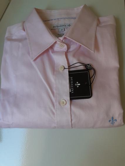Camisa Dudalina Feminina Original - 46 - Rosa