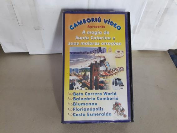 Vhs Camoriú Video A Magia De Santa Catarina Frete 14,00