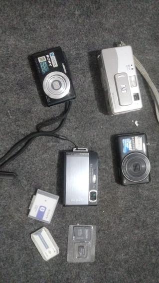 Camera Fotografica Lote 4 Unidades No Estado