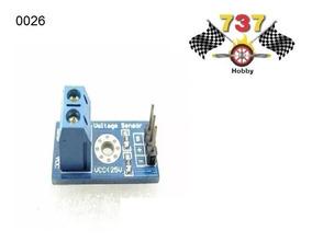 Sensor De Tensão Dc 0 A 25v - Arduino Pic Raspberry Pi