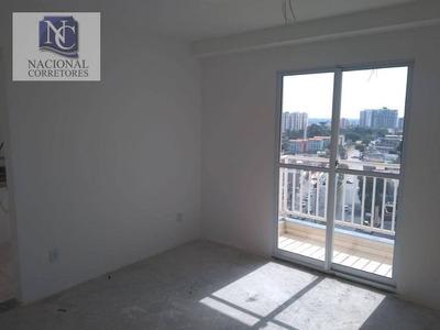 Apartamento Com 2 Dormitórios À Venda, 56 M² Por R$ 230.000 - Vila Assunção - Santo André/sp - Ap7597