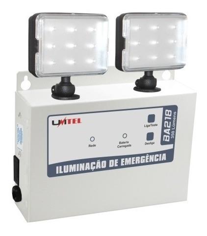 Kit Bloco De Iluminação Com 2 Farois Refletores 350 Lumens B