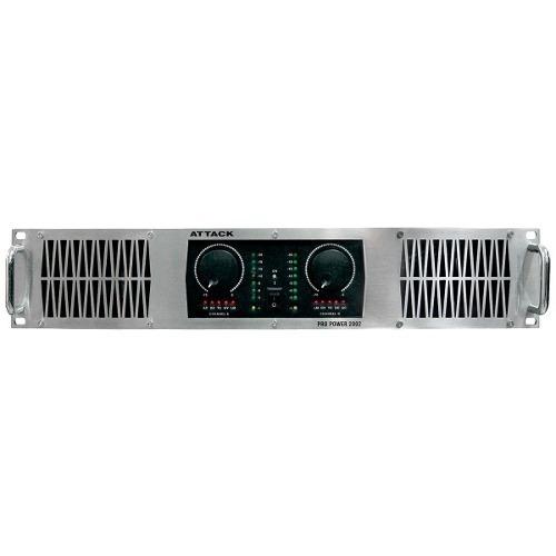 Amplificador Attack De Potencia 1200w 4 Ohms Pp 2002
