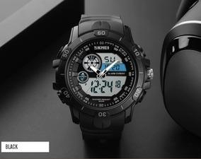 Relógio Skmei 1428 Digital Analógico Prova D