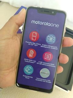Motorola One Xt1941-05 Negro. Libre $9000 .
