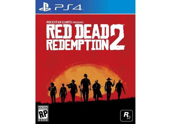 Pronto Entrega Red Dead Redemption 2 Ps4 Midia Fisica Novo