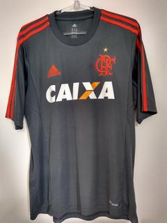 Camisa adidas Flamengo Goleiro 2013 S/n Cinza Original / M
