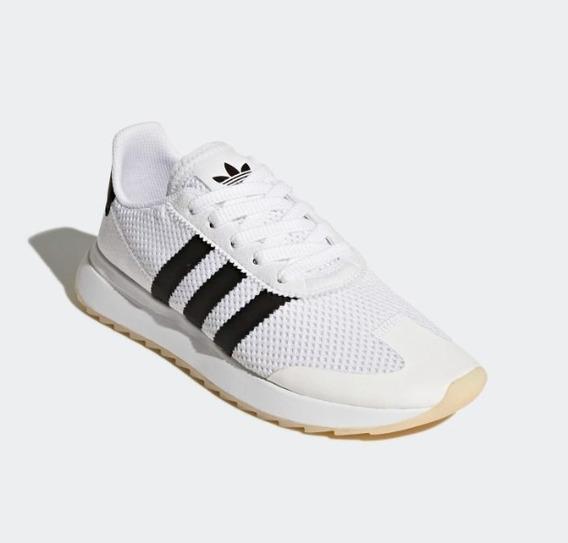 Zapatillas Adidas Originals mujer FLB Runner W negro plata