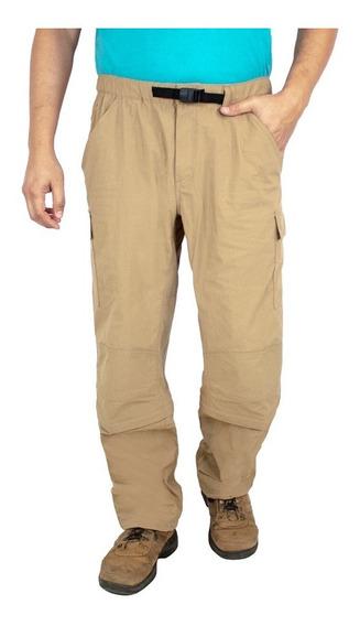 Pantalón Tipo Cargo, Convertible A Bermuda. Estilo 3072sa