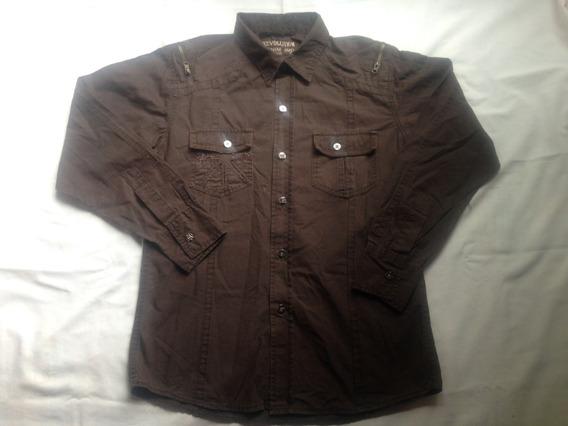 Camisa Manga Larga Niño Usada Talla 16