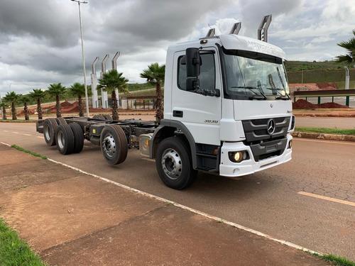 Mercedes-benz Atego 3030 8x2 Ano 2020/2021 Zero Kmbitruck