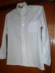Camisa Colegial Escolar Sarmiento Manga Larga Talle 9