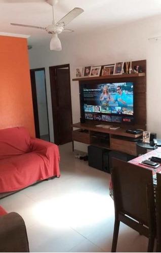 Apartamento Com 2 Dormitórios À Venda, 53 M² Por R$ 160.000,00 - Vila Jockei Clube - São Vicente/sp - Ap4888