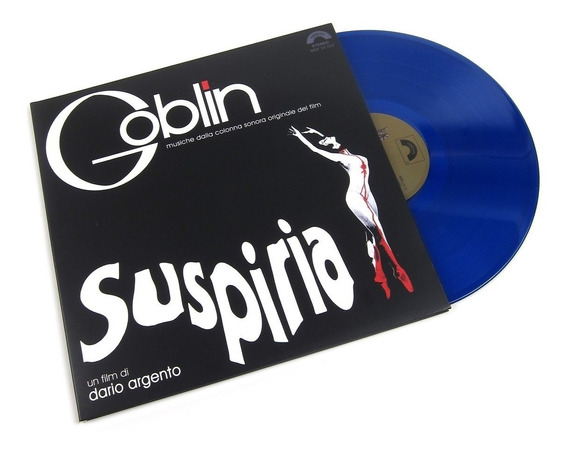 Soundtrack Goblin Suspiria Vinilo Lp Color Nuevo En Stock