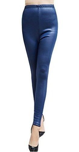 Pantalones De Lana De Invierno Swtddy De Imitacion De Cuero