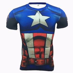 Nuevo Gimnasio Compresion Camisa Hombres Animal Super Héroe